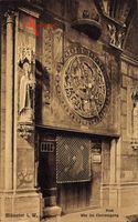 Münster in Westfalen, Dom, Blick auf die Uhr im Chorumgang