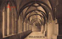 Xanten am Niederrhein, Kreuzgang, Partie im St. Victor Dom, Gotik