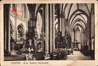 Xanten am Niederrhein, Dom, Innenansicht des Seitenschiffes