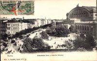 Berlin Kreuzberg, Askanischer Platz und Anhalter Bahnhof
