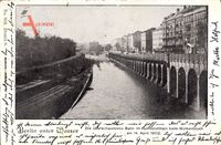 Berlin Wedding, Die überschwemmte Bahn im Humboldthain, 14. April 1902