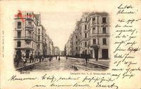 Berlin Schöneberg, Luitpold Straße vor der Eisenacher Straße