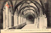 Xanten, Partie aus dem Kreuzgang am St Victor Dom, 1543 bis 1546 erbaut