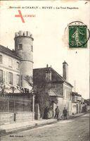 Ruvet Aisne, Environs de Charly, La Tour Napoléon, Turm