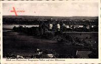 Berlin Steglitz, Blick vom Restaurant Bergmeierei Geltow auf den Petzinsee