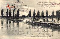 Speyer am Oberrhein Rheinland Pfalz, Kgl. Bayer. 2. Regt. Schiffsbrücke