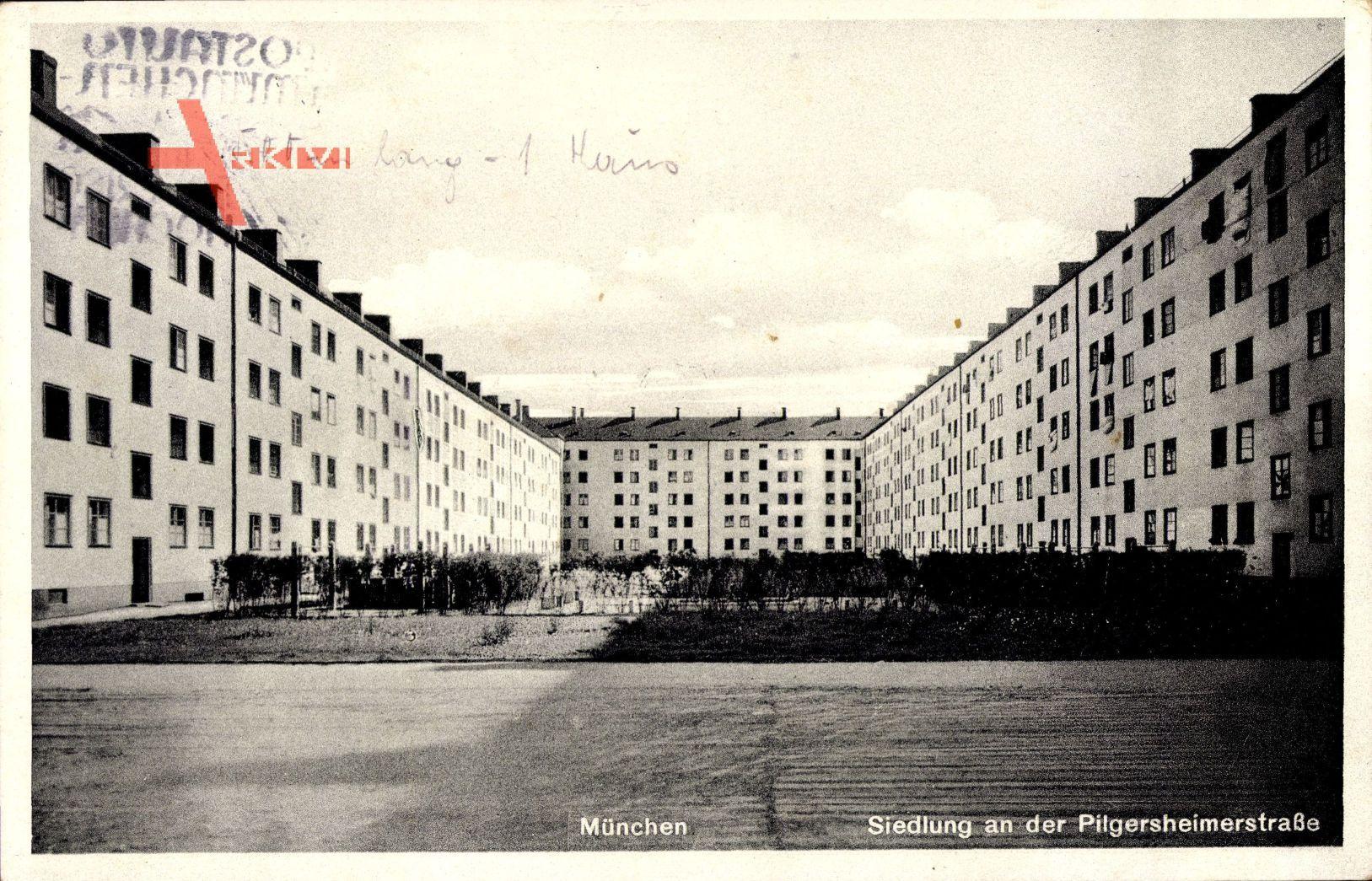 München Giesing Bayern, Siedlung an der Pilgersheimerstraße