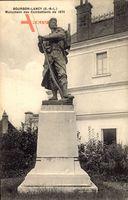 Bourbon Lancy Saône et Loire, Monument des Combattants de 1870
