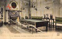 Versailles Yvelines, Le Château, Grand Trianon, Salle de Billard de Napoleon