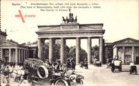 Berlin, Brandenburger Tor mit Quadriga am Pariser Platz