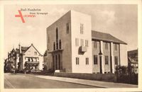 Judaika Bad Nauheim, Neue Synagoge von 1929, Bauhaus Architektur
