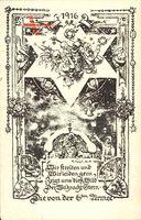 Regiment Frohe Weihnachten, 6. Armee, Weltkrieg 1916