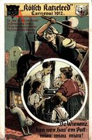Kölsch Katzeleed, Karneval 1912, De Wienanz han nen has em Pott