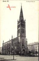 Berlin Schöneberg, Blick auf die Zwölfapostelkirche