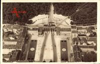Berlin Mitte, Blick auf das Brandenburger Tor von oben, Platz, WHW 149