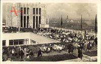 Berlin Neukölln, Rudolph Karstadt A.G. am Hermannplatz, Terrasse