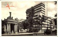 Berlin Schöneberg, Blick auf das Kathreiner Hochhaus mit Kolonnaden