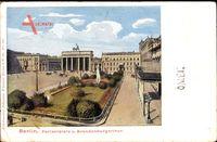 Berlin Mitte, Pariser Platz und Brandenburger Tor