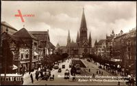 Berlin Charlottenburg, Hardenbergstraße, Kaiser Wilhelm Gedächtniskirche