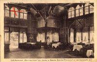 Berlin Spandau, Cafe Restaurant Börnicker Hütte, Speisesaal, Heerstraße 42