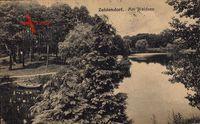 Berlin Zehlendorf, Partie am Waldsee, Parkidylle