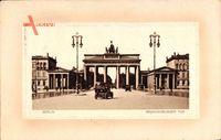 Passepartout Berlin Mitte, Blick auf das Brandenburger Tor