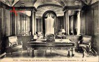 La Rueil Malmaison Hauts de Seine, Bibliotheque de Napoleon I., Innenansicht