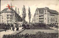 Berlin Schöneberg, Bayrischer Platz, Untergrundbahn Hausvogteiplatz