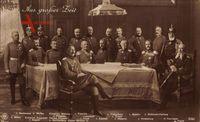 Kaiser Wilhelm II., Generalstab, Hindenburg, NPG 5090