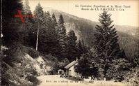 Gex Ain, La Fontaine Napoléon et le Mont Turet, Route de La Faucille