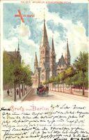 Berlin Charlottenberg, Die Kaiser Wilhelm Gedächtniskirche