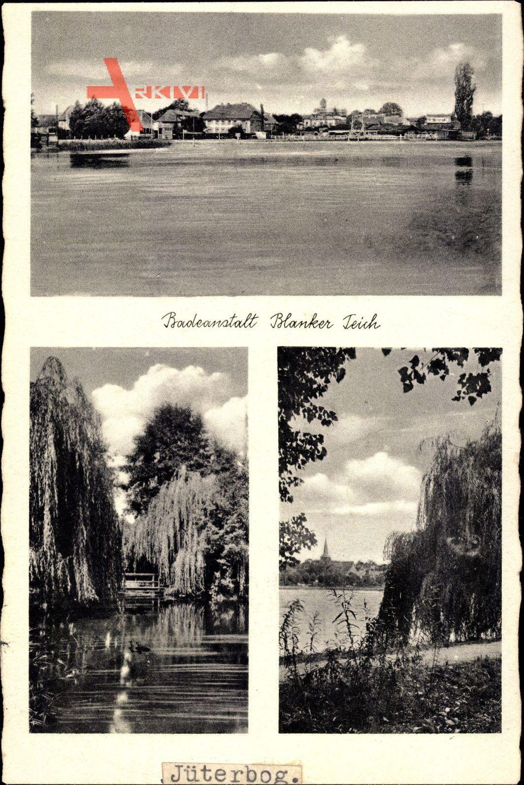Jüterborg im Kreis Teltow Fläming, Badeanstalt Blanker Teich