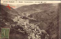 Morez de Jura, Vue panoramique, Blick auf den Ort, Berge, Häuser