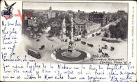 New York City, Boulevard, Columbus Monument, Central Park