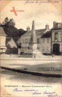 Etrepagny Eure, Monument Commemoratif 1870 à 1871, Obelisk, Denkmal
