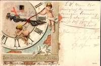 Dem Glücklichen schlägt keine Stunde, Engel, Ziffernblatt