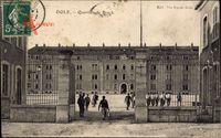 Dole Jura, Quartier de Brack, Militärgelände, Kaserne, Einfahrtstor