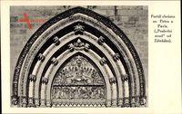 Vyšehrad Praha Prag, Portal chramu Sv. Petra a Pavla, Eingangstor