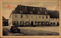 Pegau an der Weißen Elster Sachsen, Blick zum Napoleonhaus