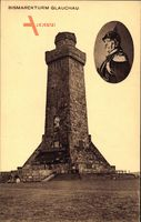 Glauchau an der Zwickauer Mulde, Blick auf den Bismarckturm