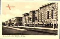 Berlin Friedrichshain, Stalin Allee, Wohnblock E Nord, Frankfurter Tor