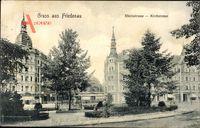 Berlin Schöneberg Friedenau, Rheinstraße und Kirchstraße