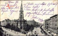 Berlin Wedding, Weddingplatz mit Blick auf Dankeskirche