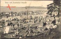 Berlin Zehlendorf Wannsee, Strandbad, Familienbad