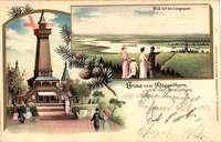 Berlin Köpenick, Müggelturm, Carl Streichhan, Blick auf den Langensee