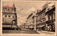 Berlin Spandau, Blick in die Breitestraße, Geschäfte, H. Neusch, W. Brose