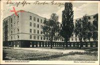 Berlin Wilmersdorf Schmargendorf, Blick auf das Martin Luther Krankenhaus