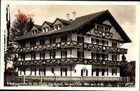 Bergen im Chiemgau, Erholungsheim für die Opfer der Arbeit, Fassade
