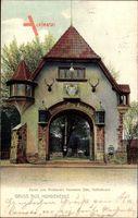 Berlin Wilmersdorf Schmargendorf, Restaurant Herrmann Otto, Hundekehle