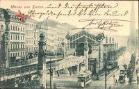 Berlin Schöneberg, Hochbahnstation Bülowstraße, Straßenbahnen
